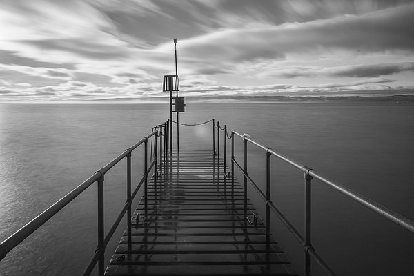West Kirby Lake Canvas print by Jim Moody