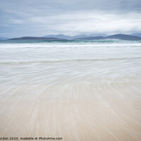 Buy canvas prints of Scarista, Isle of Harris by Janet Burdon