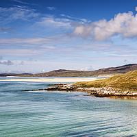 Buy canvas prints of Luskentyre Bay, Isle of Harris by Richard Burdon