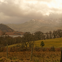 Buy canvas prints of  Ullswater by Tony Clement