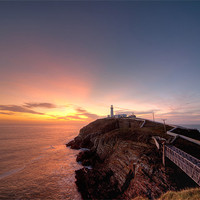 Buy canvas prints of South Stack Lighthouse by Gail Johnson