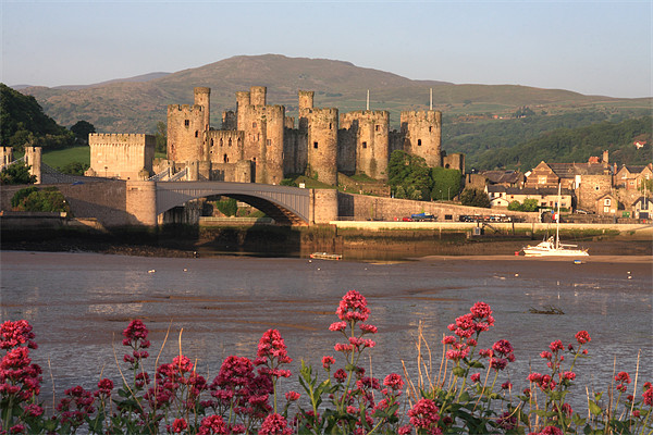 Conwy Canvas print by Gail Johnson
