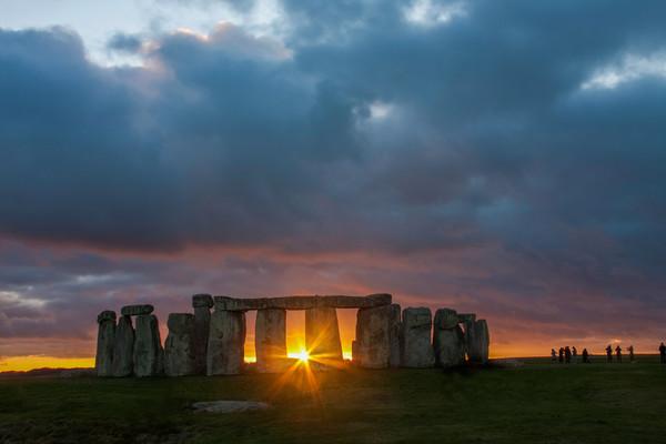 Stonehenge Print by Gail Johnson
