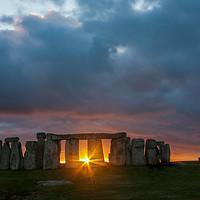 Buy canvas prints of Stonehenge by Gail Johnson
