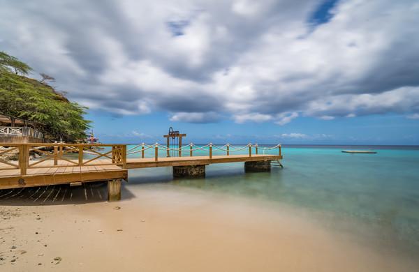 Kokomo Beach  Views around the Caribbean island of Canvas Print by Gail Johnson