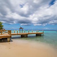 Buy canvas prints of Kokomo Beach  Views around the Caribbean island of by Gail Johnson