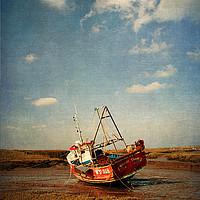 Buy canvas prints of Whitby Crest by John Edwards