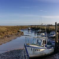 Buy canvas prints of Thornham Staithe Norfolk UK by John Edwards