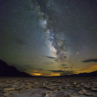 Buy canvas prints of Milky Way over Death Valley by sharpimage.net