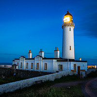 Buy canvas prints of Mull of Galloway lighthouse by David Irving
