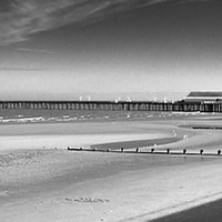 Buy canvas prints of  the Beach by Kish Woolmore