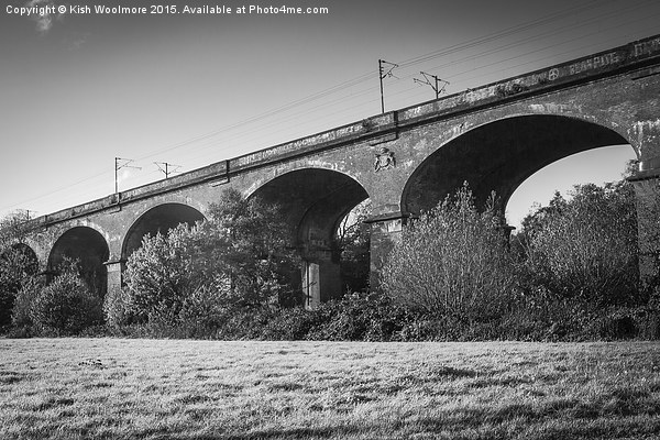 Viaduct No3 Canvas print by Kish Woolmore
