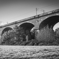 Buy canvas prints of Viaduct No3 by Kish Woolmore