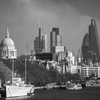 Buy canvas prints of  London Scenes 1 by Kish Woolmore