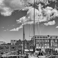 Buy canvas prints of Hull Marina by David Smith
