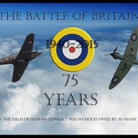 Buy canvas prints of The Battle of Britain by stephen ward