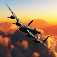 Buy canvas prints of  Banking Bomber by Stephen Ward