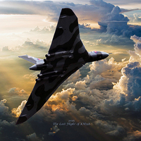 Buy canvas prints of  2015 The Last Flight of XH558 by Stephen Ward