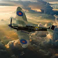 Buy canvas prints of  'Tally Ho' by Stephen Ward