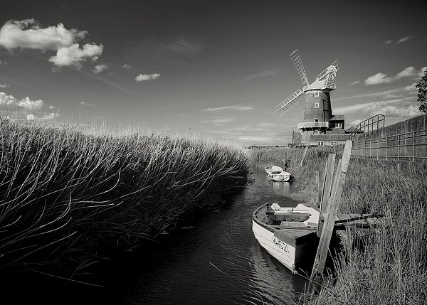 Cley Windmill Framed Mounted Print by JG Photography