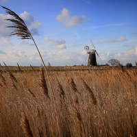 Buy canvas prints of  Mutton's Mill, Norfolk by JG Photography