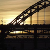 Buy canvas prints of  Tyne Bridge by Suzanne Whaley