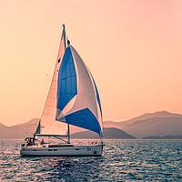 Buy canvas prints of  Yacht racing by Svetlana Korneliuk