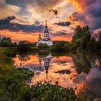Buy canvas prints of Summer sunset by Svetlana Korneliuk