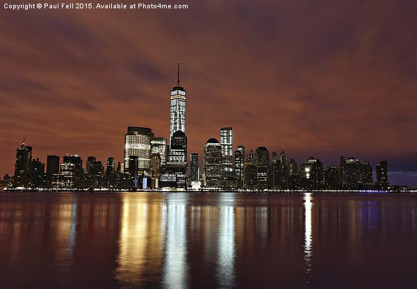 New York City Canvas print by Paul Fell