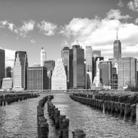 Buy canvas prints of Manhattan by Paul Fell