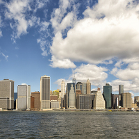 Buy canvas prints of Manhattan by Paul Fell