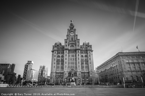 Liver Building Canvas Print by Gary Turner