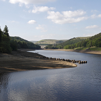 Buy canvas prints of Derwent Reservoir by Kevin Round