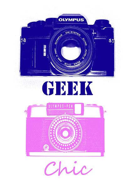 Camera Geek, Photo Chic  Canvas print by Chris Watson
