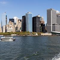 Buy canvas prints of Lower Manhattan New York by Kerri Dowling