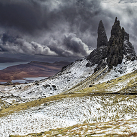 Buy canvas prints of  The Old Man of Storr by Jolanta Kostecka