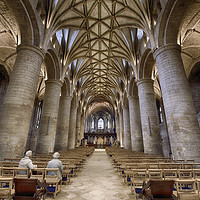 Buy canvas prints of Tewkesbury Abbey by Jack Torcello