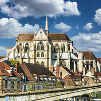 Buy canvas prints of Auxerre in France by Jack Torcello