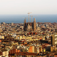 Buy canvas prints of  Barcelona by Svetlana Sewell