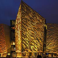 Buy canvas prints of  Titanic Belfast by Svetlana Sewell