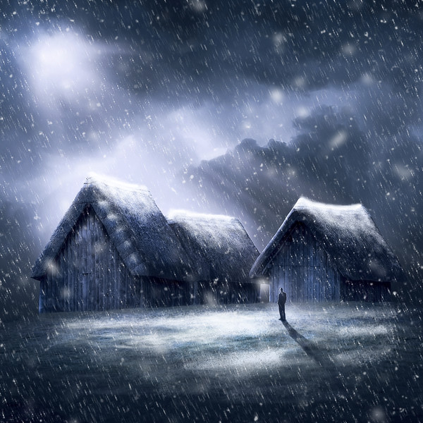 Going Home for Christmas Canvas print by Svetlana Sewell