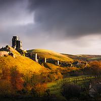 Buy canvas prints of Corfe Castle          by Svetlana Sewell
