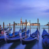 Buy canvas prints of Gondolas in Venice by Svetlana Sewell