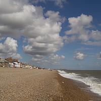 Buy canvas prints of Aldeburgh beach by Mark Roper
