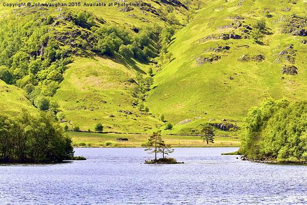 Eilean nam Paite, Ranochan, Loch Eilt Canvas print by John Vaughan