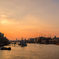 Buy canvas prints of City of London Panorama by Len Brook