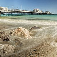 Buy canvas prints of Worthing Pier by Len Brook