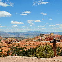 Buy canvas prints of Horse Trail, Bryce Canyon by Megan Chown