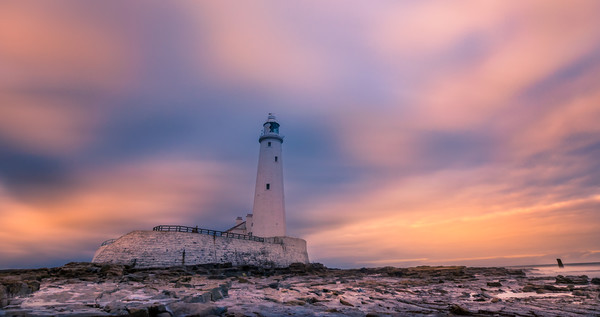 Lighthouse Light............ Canvas print by Philip Naylor
