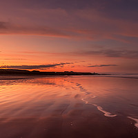 Buy canvas prints of Twilight at the Beach by Philips Photography